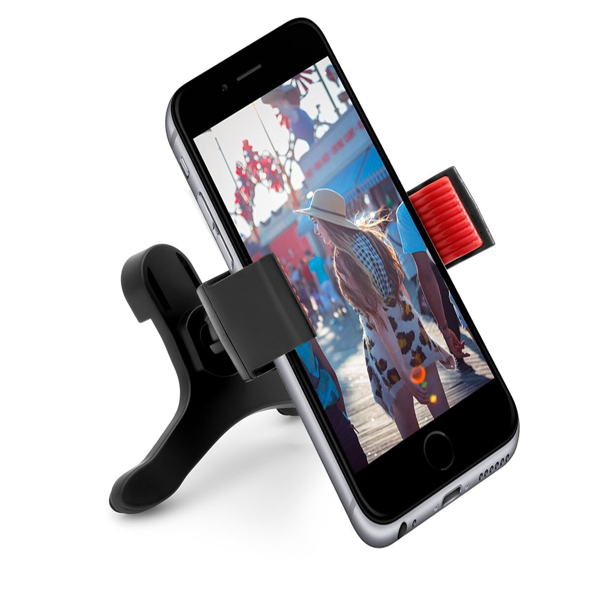 GPS Galaxy iPhone 360 Degree Rotation Affordable Universal Air Vent Phone Holder Car Mount for Cell Phones Smartphones Android