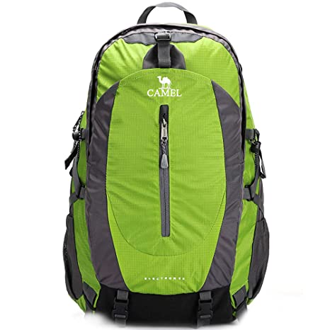 3f3ea49fb05 CAMEL CROWN 50L Waterproof Hiking Backpack Travel Daypack Backpacks Outdoor  Camping Trekking Backpacking Green: Amazon.in: Sports, Fitness & Outdoors