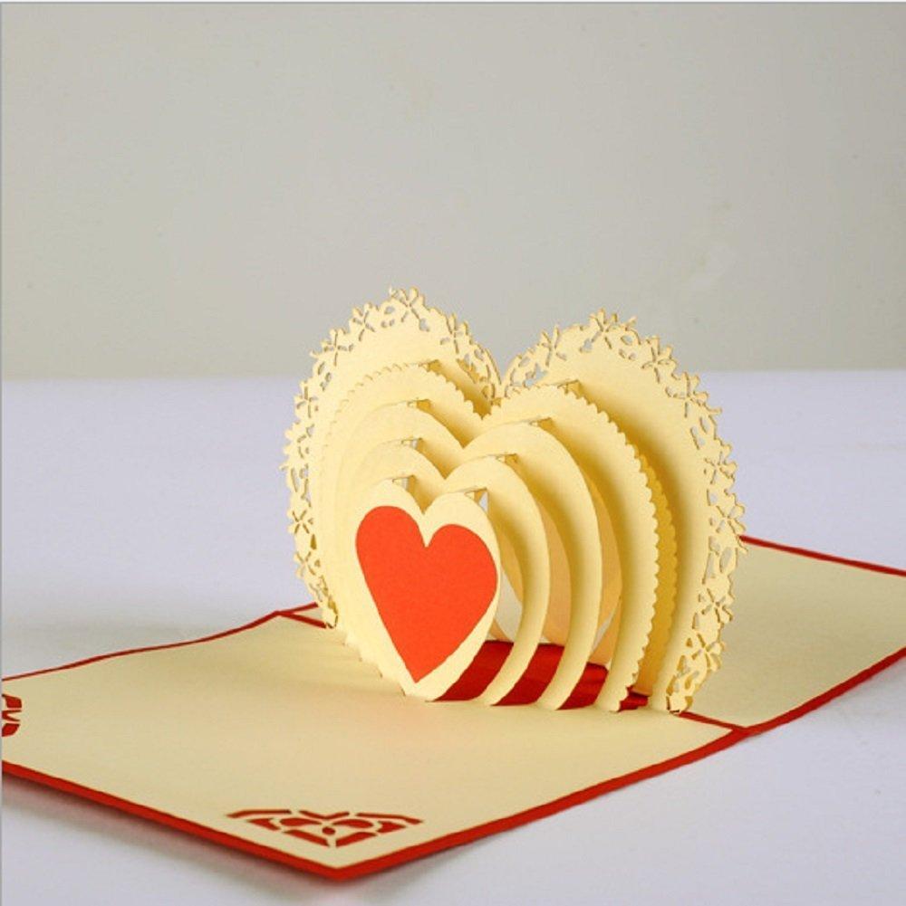 BC Worldwide Ltd Tarjeta de felicitación popup popup 3D ...