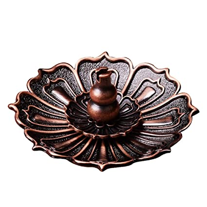 Amazon.com: YUMUO Copper Incense Stick Holder,Handmade Stick ...