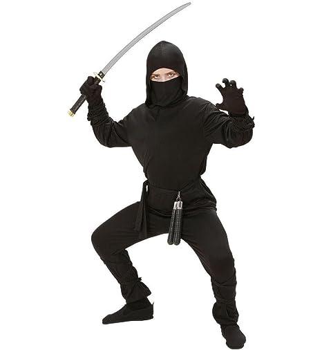 Guerrero Ninja sombra assassine Disfraz Para Niños: Amazon ...