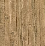 Brewster 412-56911 20.5-Inch by 396-Inch Raised wood - Textured Depth Wallpaper, Tan