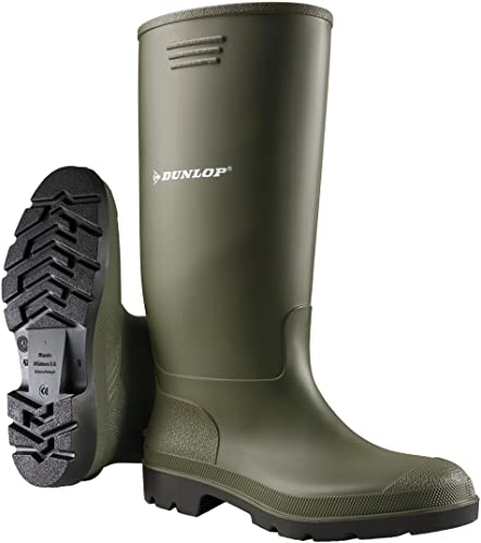Dunlop Herren Stiefel, Oliv Grün, 39 EU: : Schuhe