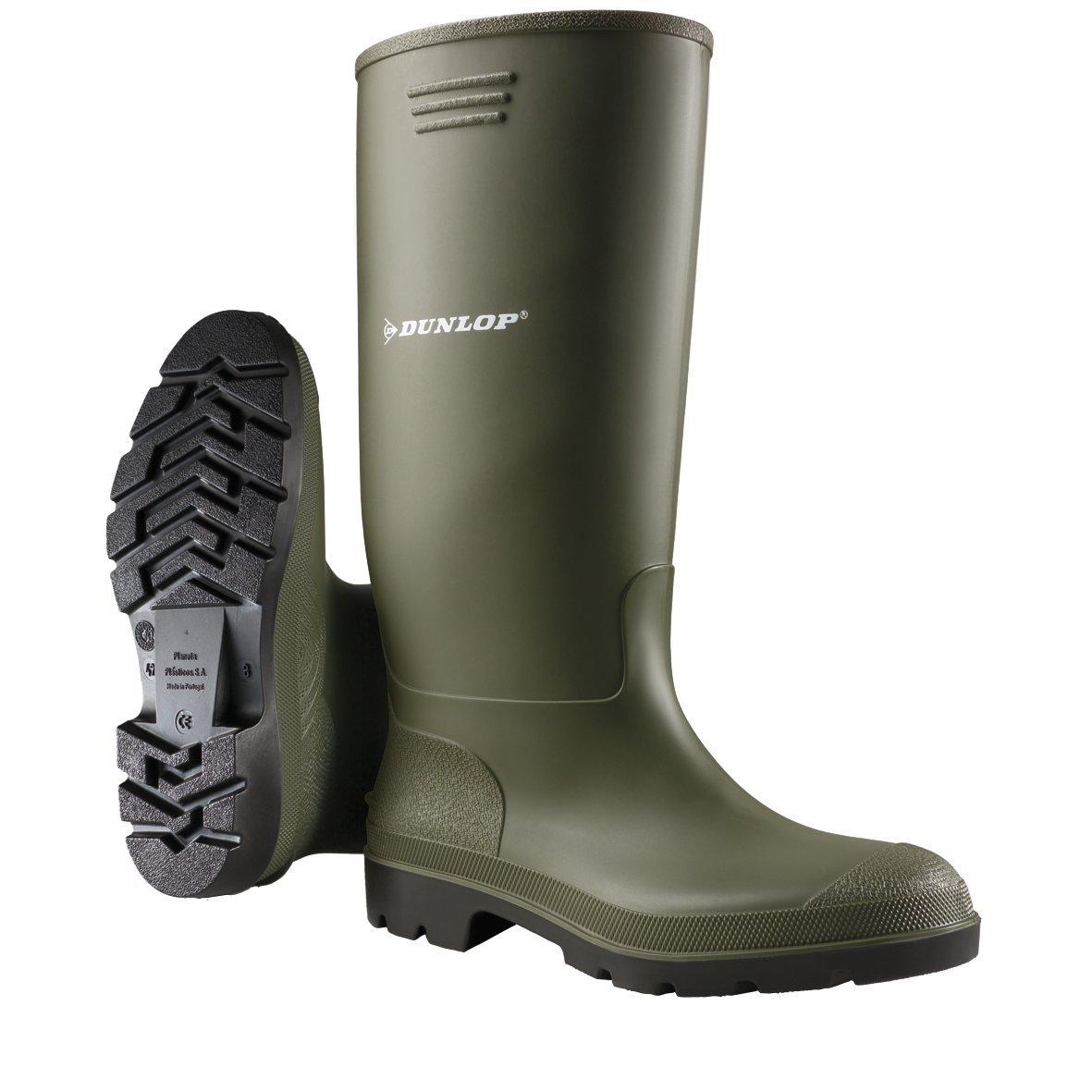 Dunlop Protective Footwear (DUO18) Dunlop Pricemastor, Botas de Agua Unisex Adulto, Green, 45 EU
