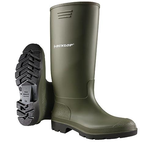 Dunlop Adults Unisex Pricemastor Wellies (4 US) (Green) 90abb2badd08
