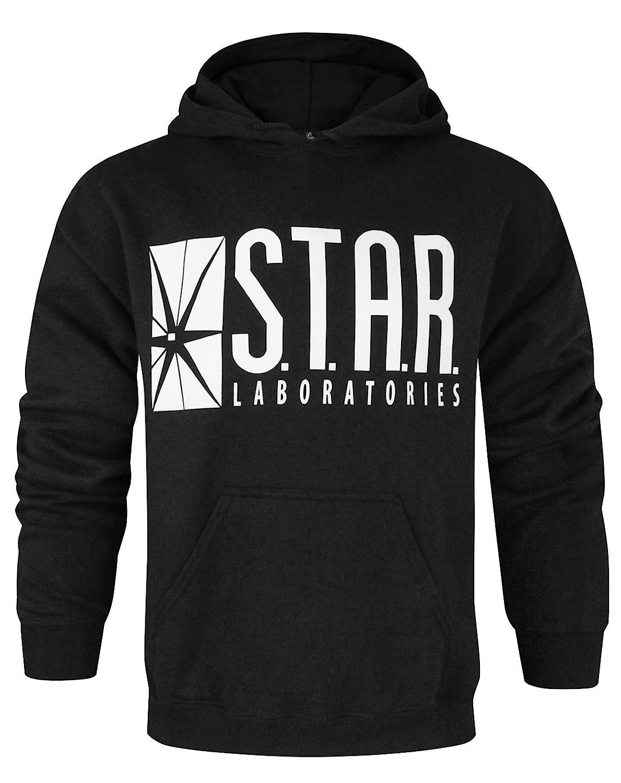 Official Flash TV S.T.A.R Laboratories Men's Hoodie