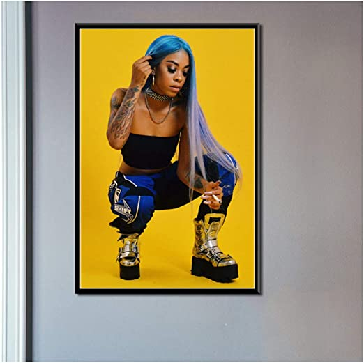 Rico Nasty Rapper Music Star Hip Hop Rap Poster Wall Decor X-177