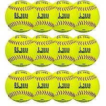 "Franklin Sports 12"" Tournament Play Fastpitch Softballs - 12 Pack"