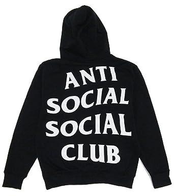 e0b937fcbfee Identity Anti Social Social Club Hoodie  Amazon.co.uk  Clothing