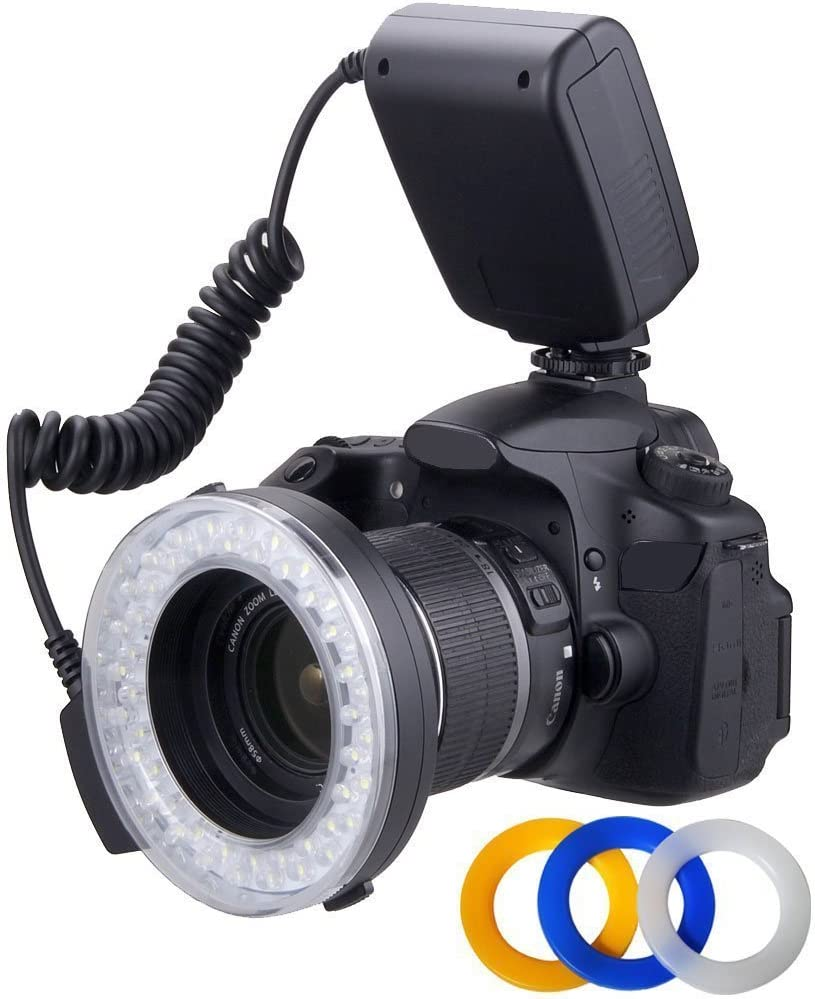 Makro Ringblitz Led Licht Für Olympus Four Thirds Kamera