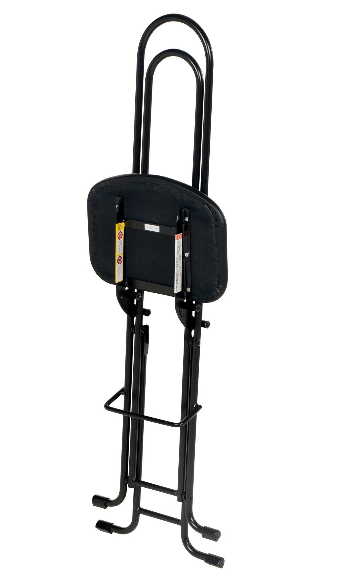 Vestil CPRO-800LP Ergonomic Worker Seat/Chair, 13-1/2'' Width, 10'' Depth, 300 lb. Capacity, 18'' - 33'' Height Range by Vestil (Image #5)