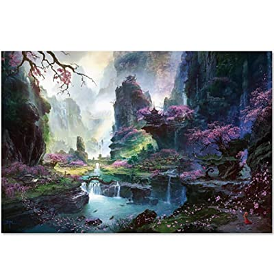 Pan Hui 1000 Piece Jigsaw Puzzle for Adults-Landscape Figure -Jigsaw Puzzlesfor Adults, Teens and Family: Toys & Games
