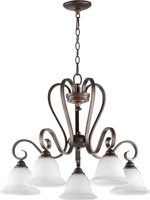 Amazon.com: quórum 5 Cinco Nook lámpara colgante de techo ...