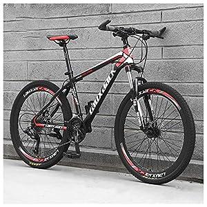26 Pollici 21 velocità, Adulto Bicicletta MTB, Bicicletta Mountain Bike, Bicicletta, Biciclette, Doppio Freno A Disco…