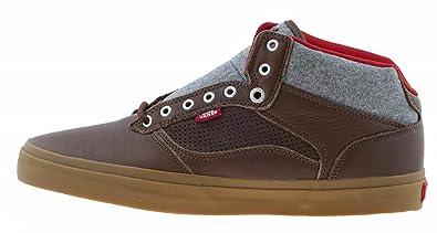 ee56d5f36a Vans OTW Bedford Shoes Felt Pack Carafe Brown Grey Gum UK 8  Amazon ...