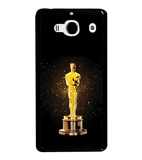 sneakers for cheap fa530 702ca printtech Oscar Statue Back Case Cover for Xiaomi Redmi: Amazon.in ...