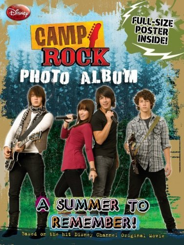 Read Online Camp Rock Photo Album: A Summer to Remember PDF