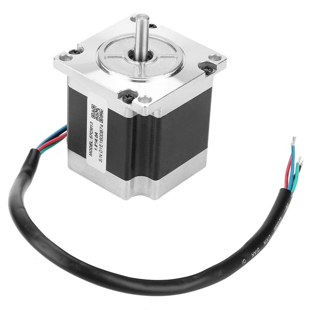 2-Phase Stepper Motor - 57CM13 2-Phase Stepper Motor NEMA23 1.3N.m 4A Shaft Diameter 6.35mm by MLMLH