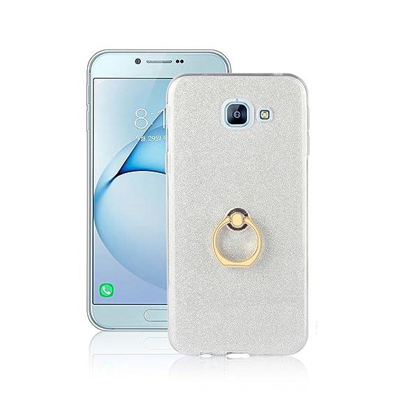 uk availability 7240f 8f750 Amazon.com: Galaxy A8 (2016) Case,XYX 360 Rotating Glitter Ring ...