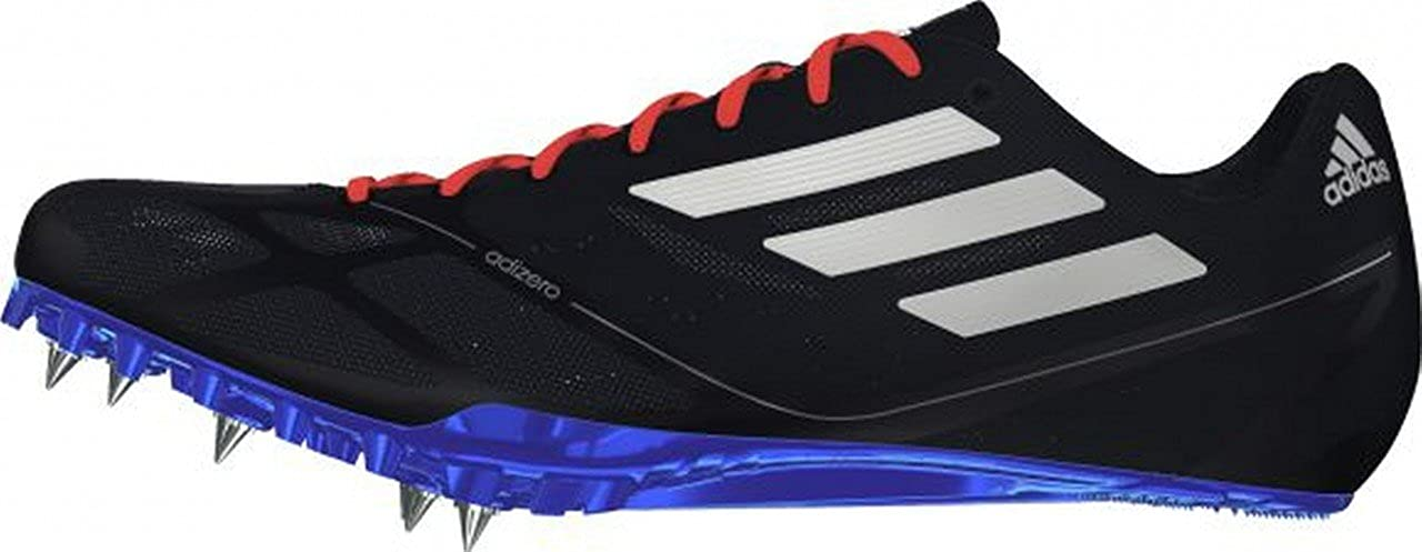 sale retailer 4d449 1bbe3 Adidas Adizero Prime Finesse Sprint Track Spikes Shoes Black White Mens  Size 5 (Womens 6), Running - Amazon Canada
