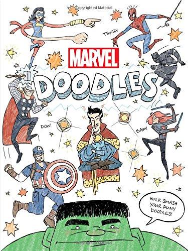 Marvel Doodles (Paperback) (Kurt Hartman & Tomas Palacios)