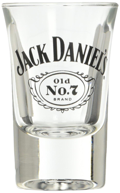 Jack Daniels Medium Barrel Shot Glass Jack Daniels Licensed Barware 8488
