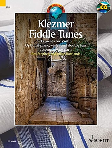 Klezmer Fiddle Tunes: 33 Pieces - With a CD of performances and play-along tracks