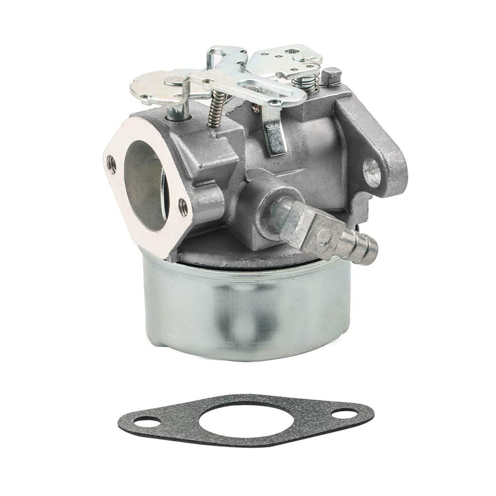 Dalom 640084B Carburetor Kit for Tecumseh 5HP MTD 632107A 632107 640084 640084A Toro 522 521 Snow Blower HSK40 HSK50 HSSK40 HSSK50 HS50 LH195SA Engine Snowking