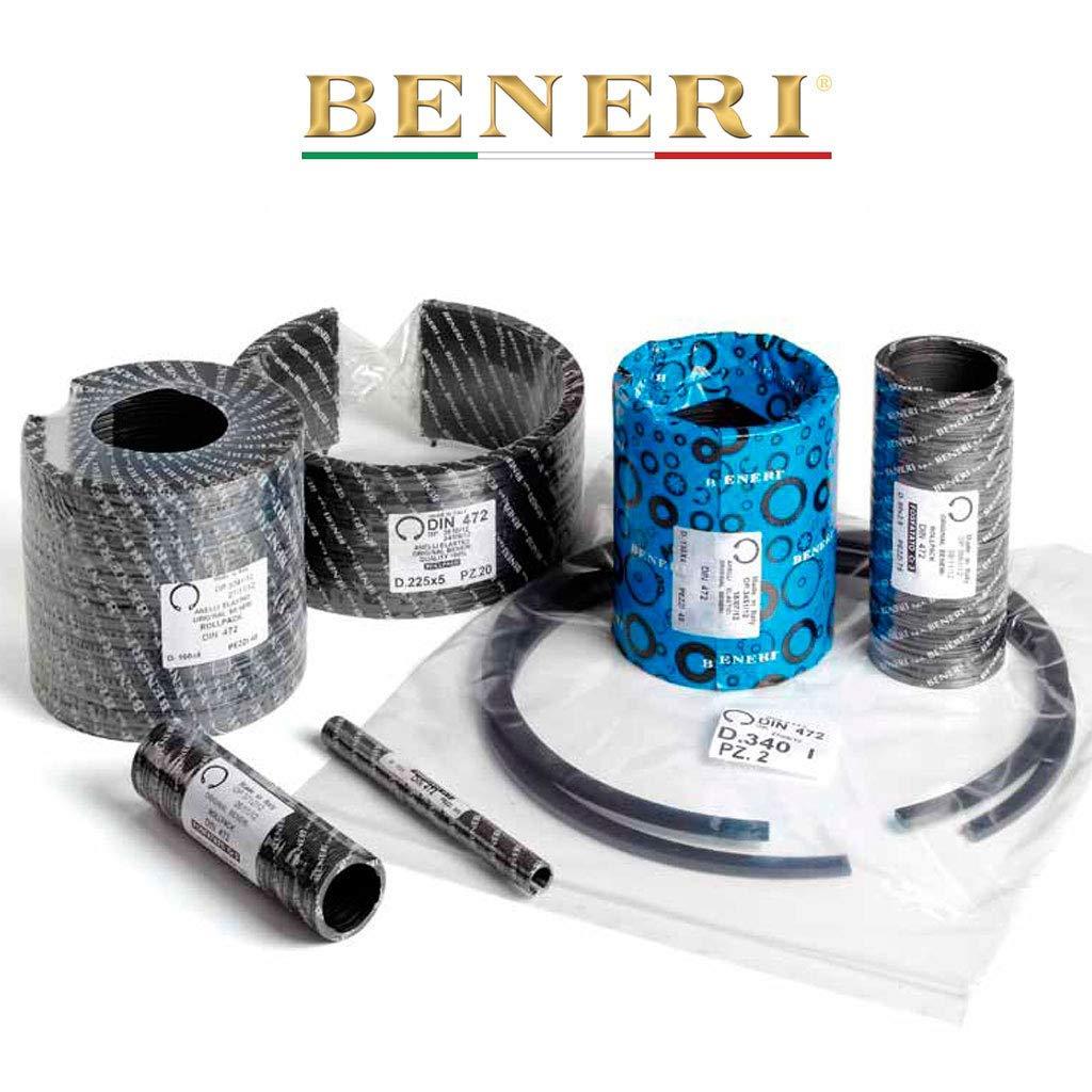 Pack of 100 pcs E Clip External Retaining Ring 30 mm CS Phosphate Finish