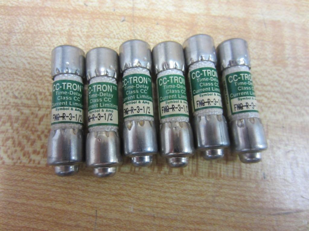 CC-Tron FNQ-R-3-1/2 Fuse FNQR312 (Pack of 6)