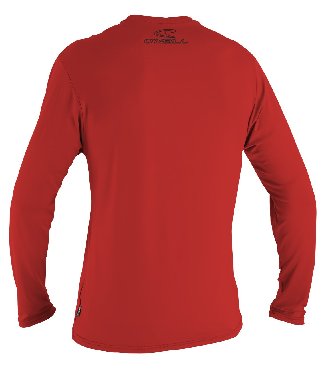 O'Neill  Men's Basic Skins UPF 50+ Long Sleeve Sun Shirt, Red, Small by O'Neill Wetsuits (Image #2)