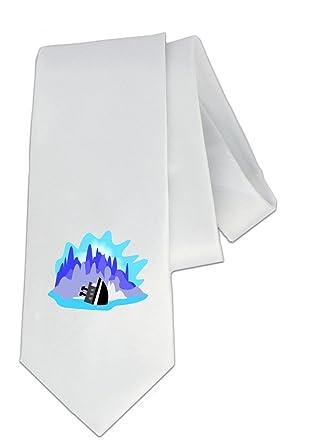 party decoration necktie with the image of titanic iceberg