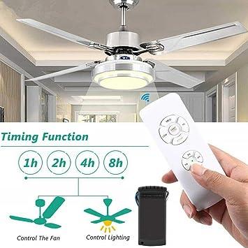 BEESCLOVER - Kit de iluminación para Ventilador de Techo ...