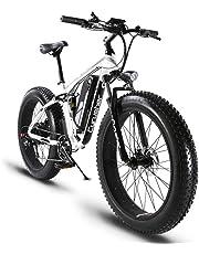 c14d161f23e Cyrusher XF800 26inch Fat Tire Electric Bike 1000W 48V Snow E-Bike Shimano  7 Speeds