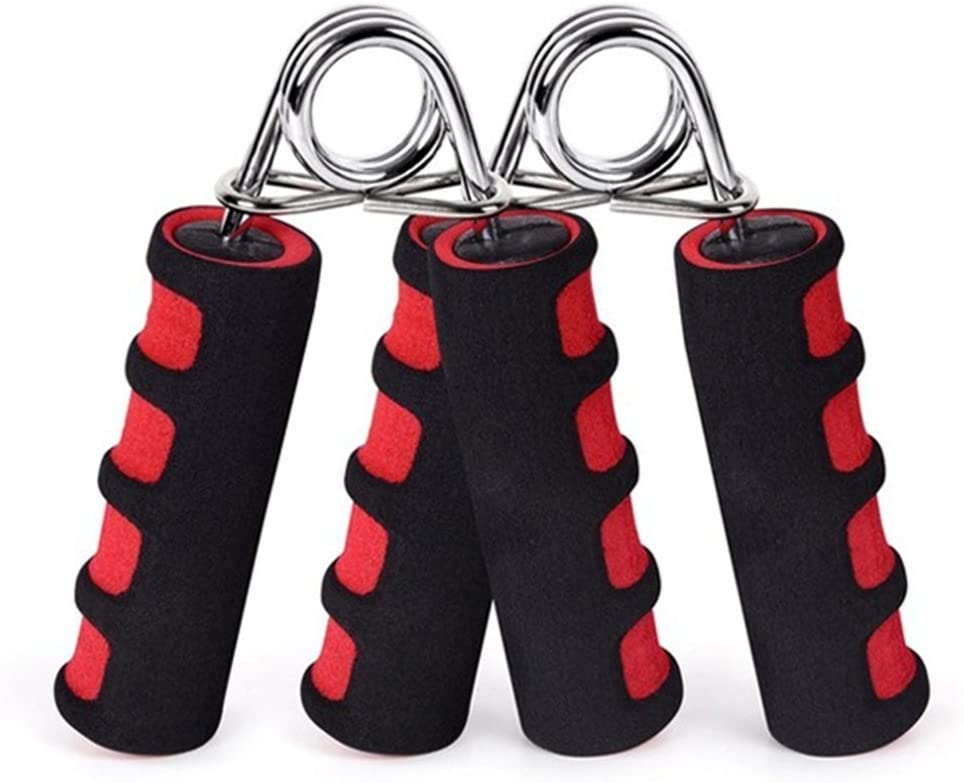 BOOMIBOO Hand Grip Strengthener, Hand Soft Foam Manual Exerciser, Rapid Increase of Wrist, Forearm and Finger Strength Exercise Equipment, 2 Pack : Sports & Outdoors