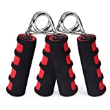 BOOMIBOO Hand Grip Strengthener, Hand Soft Foam Manual Exerciser, Rapid Increase of Wrist, Forearm and Finger Strength…