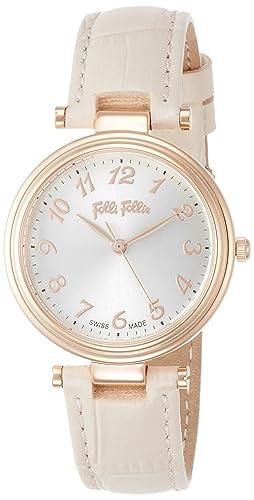 Folli® Follie CLASSY REFLECTIONS Swiss Made Watch WF16R028SPS-PI - Reloj para mujer: Amazon.es: Relojes
