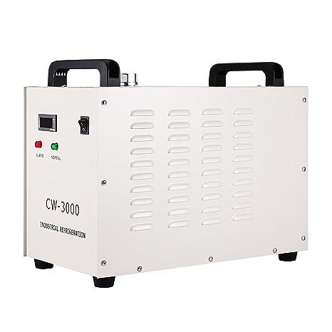 Autovictoria Water Chiller 9L Agua de Enfriamiento Industrial 10L / min de Agua Chiller Enfriador 50W