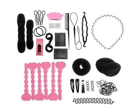 1set 20 diferentes estilos diseño de pelo profesional styling tools-hair volumen Bump It Up
