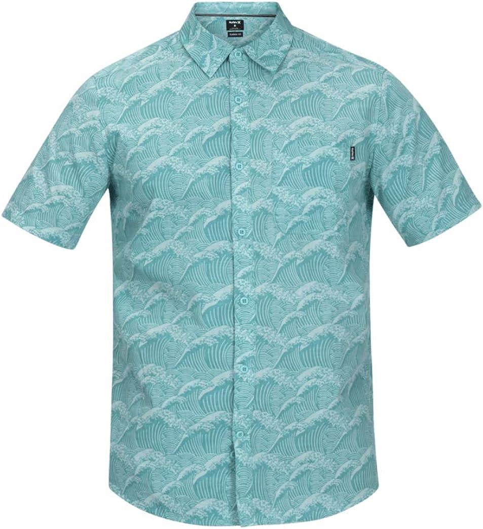 Hurley Mens Waves Short Sleeve