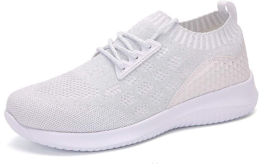 gracosy Zapatillas de Running para Mujer Zapato de Trail Verano Slip-on Malla Zapatillas Deportivas Transpirable Ligero Casual Zapato Al Aire Libre: Amazon.es: Zapatos y complementos
