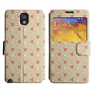LEOCASE Pequeños Ratones Funda Carcasa Cuero Tapa Case Para Samsung Galaxy Note 3 N9000 No.1000290