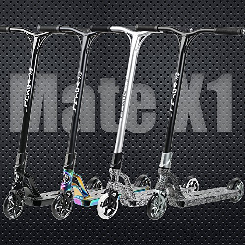 Freestyle Trick Pro Stunt Scooter with Aluminum Bar//Deck//Fork and 120mm 3D Wheels for Kids,Teenagers,Adults Proffesional Scooter Rider VOKUL X1 Complete Pro Scooter for Inter and Advanced Rider