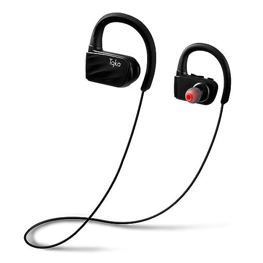 20 opinioni per Tqka Auricolari Bluetooth, Impermeabili IP67 Anti-sudore Senza fili Wireless
