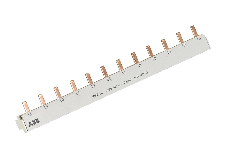 ABB 3-polig Stiftschiene PS3//12 pro M compact