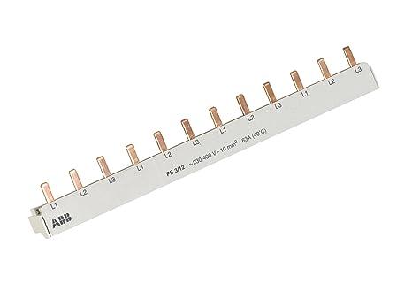 ABB Phasenschiene Stift 3polig 12 Module