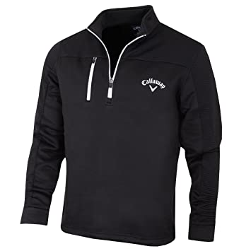 Amazon.com: Callaway 2017 Mens Golf Ottoham 1/4 Zip Thermal Fleece ...