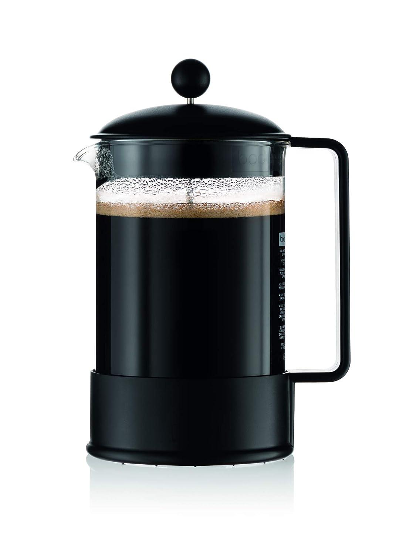 Bodum Brasil 1 - 1/2 litros prensa francesa cafetera, 12 ...