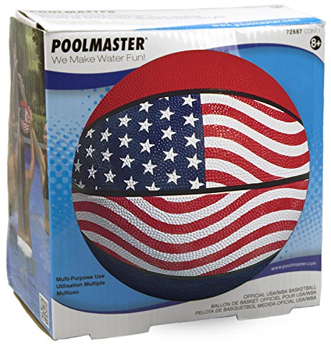 Poolmaster 72687 Official USA / WBA Competition Basketball - Box (Best Basketball For Concrete)