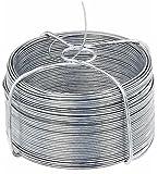 GAH-Alberts 530020 - Bobina di filo di ferro 1,2 / 50 m Zincato